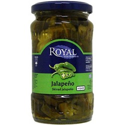 Маринованный халапеньо, Royal Jalapenio, 360/175г.
