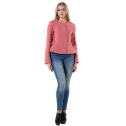 7a845b7d6a0 14-0020-96 Пальто женское демисезонное Кашемир Розовый меланж