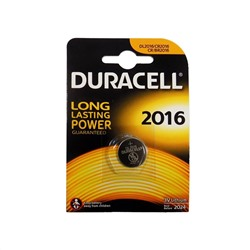 Элем.пит. CR2016 1BL DURACELL
